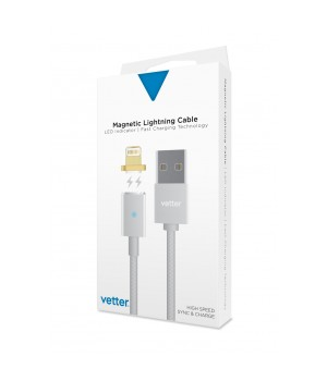 Magnetic Lightning Cable, Silver